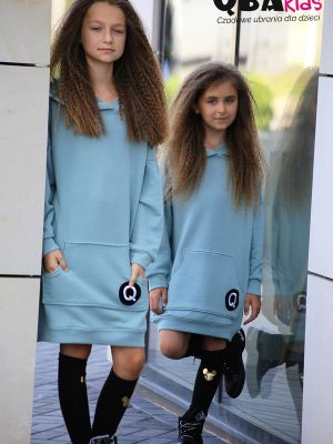 bluza qba kids tunika dla dziewczynki na jesień