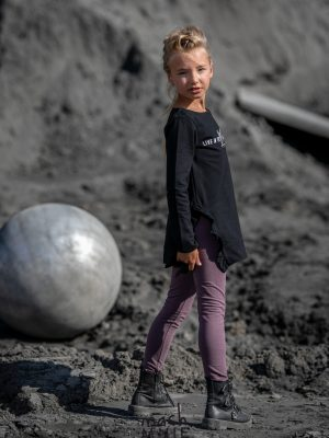 fioletowe getry mashmnie dla dziewczynki jesień zima 2020