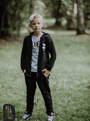all for kids rozpinana bluza z kapturem